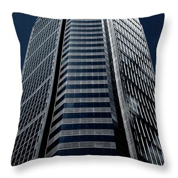 Throw Pillow featuring the photograph Tower by Eric Christopher Jackson