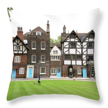Tower Green Throw Pillow