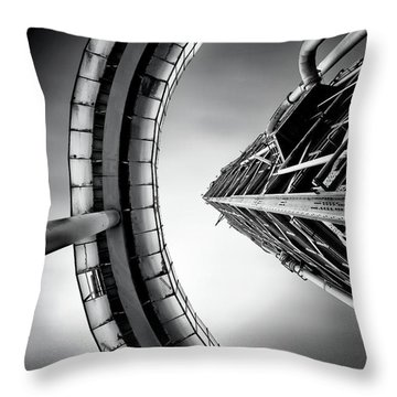 Tower Throw Pillow by Jorge Maia