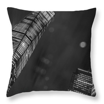 Tower Nights Throw Pillow