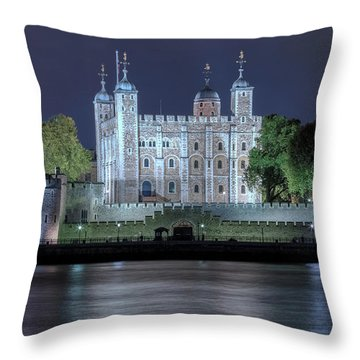 Tower Of London Throw Pillow by Joana Kruse