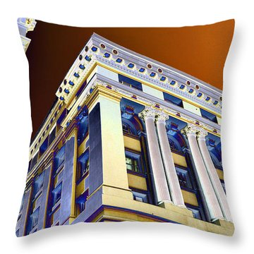 Tower Of Power Throw Pillow