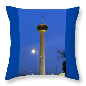 Tower Of The Americas Throw Pillow