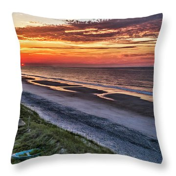 Tower Sunrise Throw Pillow