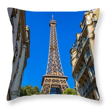Throw Pillow featuring the photograph Towering Landmark by Kim Wilson