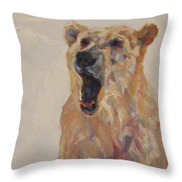 Town Crier Throw Pillow