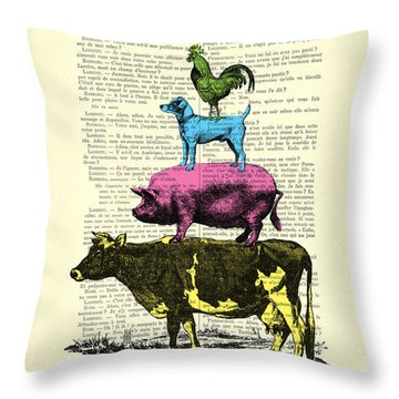 Grimm Fairy Tales Throw Pillows