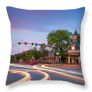 Towndown  Beaver  Throw Pillow