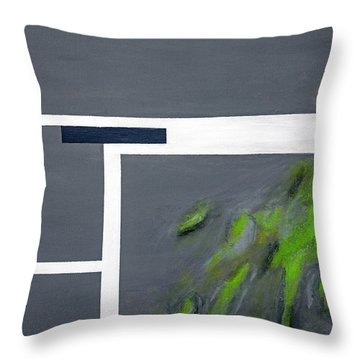 Toxic Throw Pillow by Slade Roberts