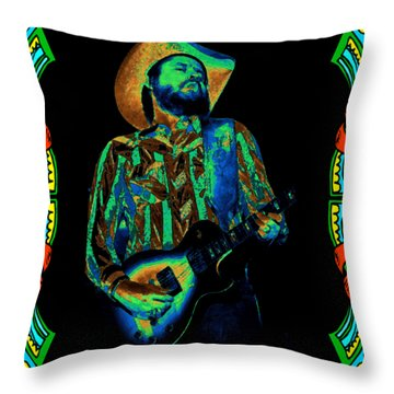 Toy Caldwell Framed #1 Throw Pillow