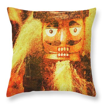 Toy Solider Memories Throw Pillow
