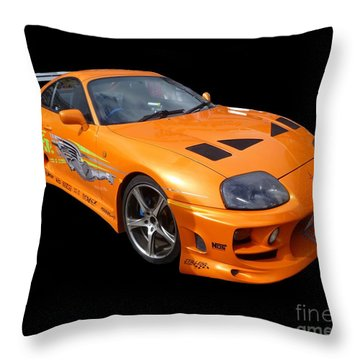 Toyota Supra Throw Pillow