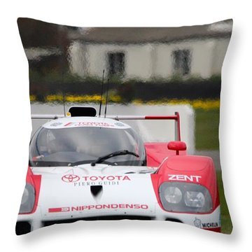 Toyota Ts010  Throw Pillow