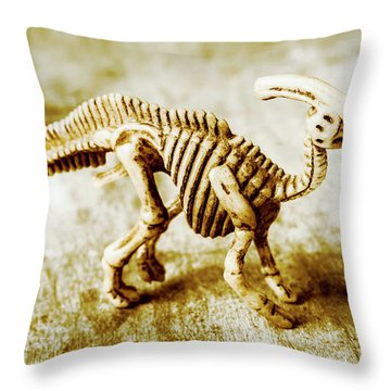 Toys And Artefacts Throw Pillow