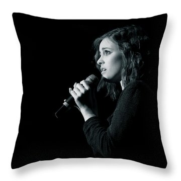 Tpa001 Throw Pillow