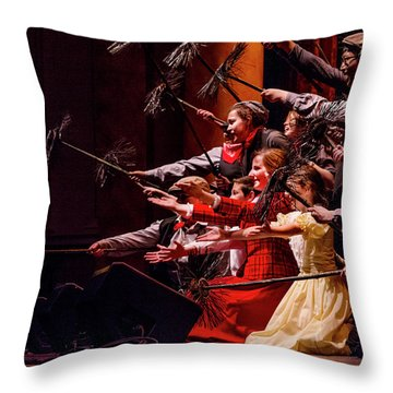 Tpa002 Throw Pillow