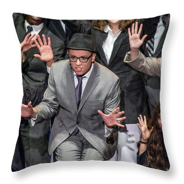 Tpa008 Throw Pillow