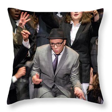 Tpa009 Throw Pillow