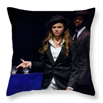 Tpa010 Throw Pillow