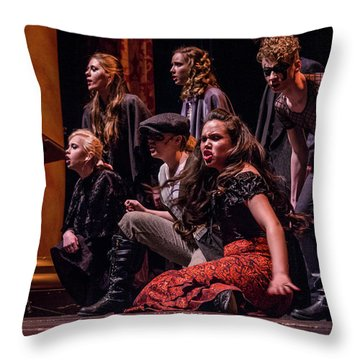 Tpa071 Throw Pillow