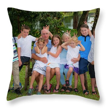 tr Throw Pillow