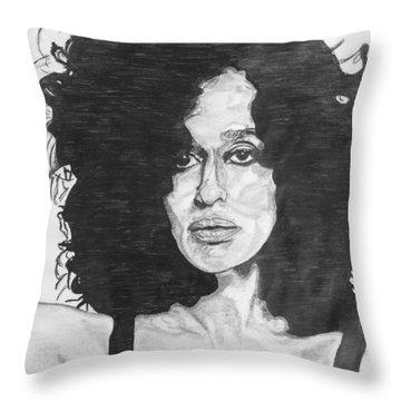 Tracee Ellis Ross Throw Pillow