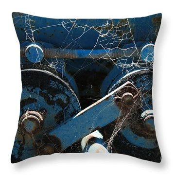 Tractor Engine IIi Throw Pillow
