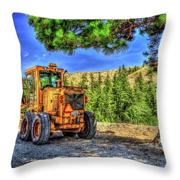 Tractor Love Throw Pillow
