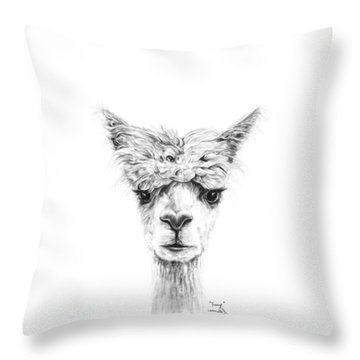 Throw Pillow featuring the photograph Tracy by K Llamas