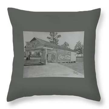 Traders Throw Pillow