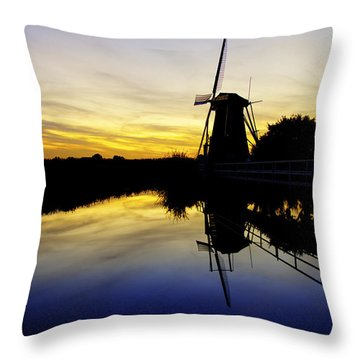 Traditional Dutch Throw Pillow