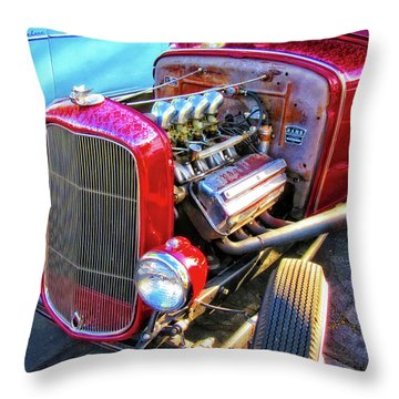 Traditional Hemi Throw Pillow