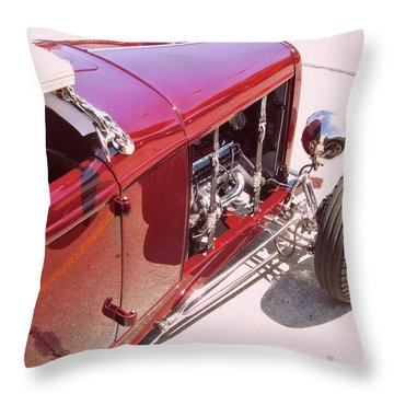 Traditional Roadster Throw Pillow