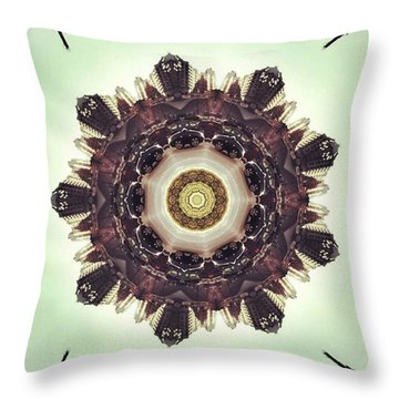 Traffic On The Road Throw Pillow