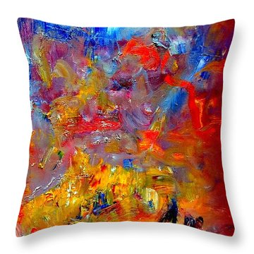 Tragedy  At  Sea -  Sydney To Hobart Throw Pillow