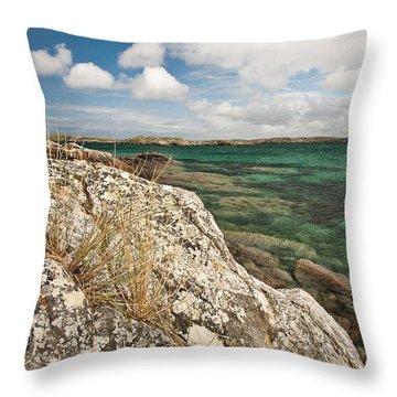 Traigh Na Berie Throw Pillow