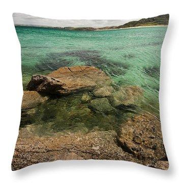Traigh Na Berie IIi Throw Pillow