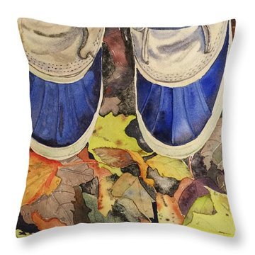Trail Mix Throw Pillow