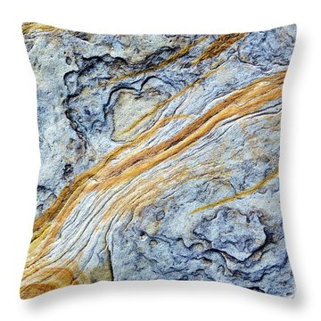Throw Pillow featuring the photograph Trailblazer by Tim Gainey