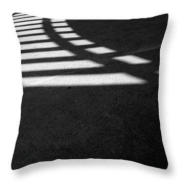 Light Rail 1 Of 1 Throw Pillow