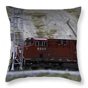 Train 9365 Throw Pillow