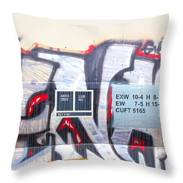 Train Art Throw Pillow