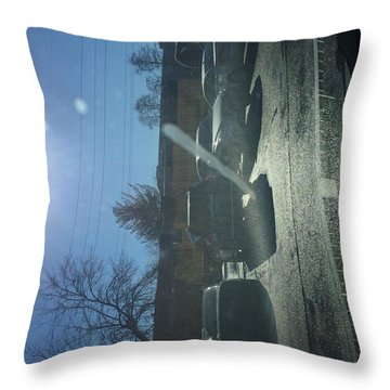 Train At The Ymca Throw Pillow