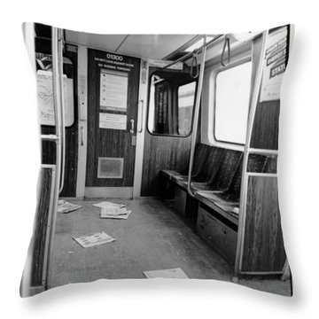 Train Car  Throw Pillow
