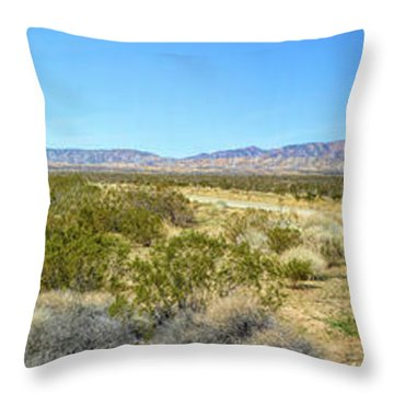 Train To Tehachapi Throw Pillow