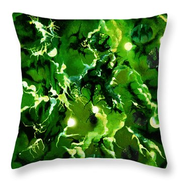 Trancendental Memories Of Soft Song Throw Pillow