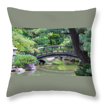 Tranqility Throw Pillow