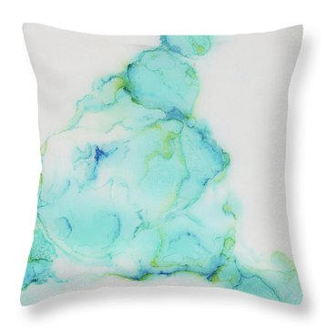 Tranquil And Soft Sky Throw Pillow