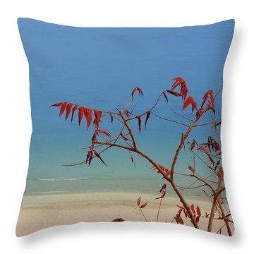 Tranquil Blue Throw Pillow