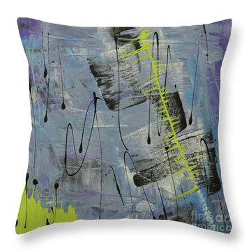 Tranquil Dream II Throw Pillow by Cathy Beharriell